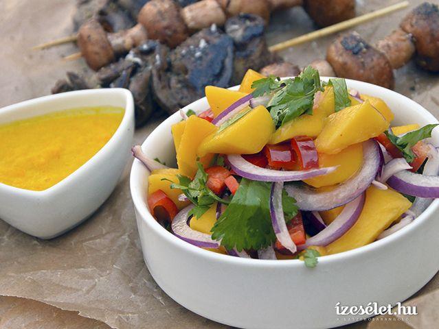 Csípős mangósaláta - Receptek | Ízes Élet - Gasztronómia a mindennapokra