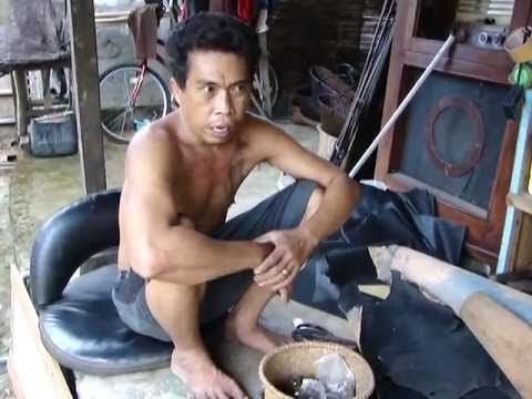 The Bali Leather Bag Man.
