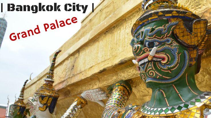 Bangkok City! | Vlog# 3 Tuk Tuk Driver Scams Me!! (Thailand, Grand palac...
