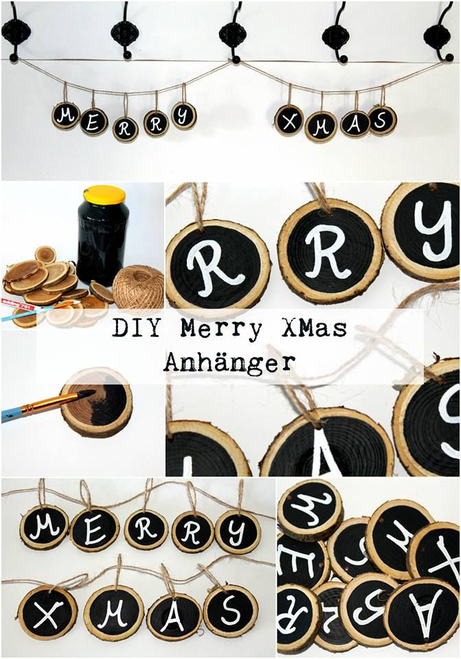 ber ideen zu holzscheiben auf pinterest christbaumanh nger weihnachtsschmuck und. Black Bedroom Furniture Sets. Home Design Ideas