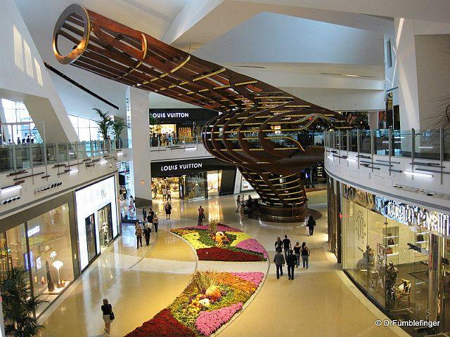 Las Vegas City Center Crystals Mall NV