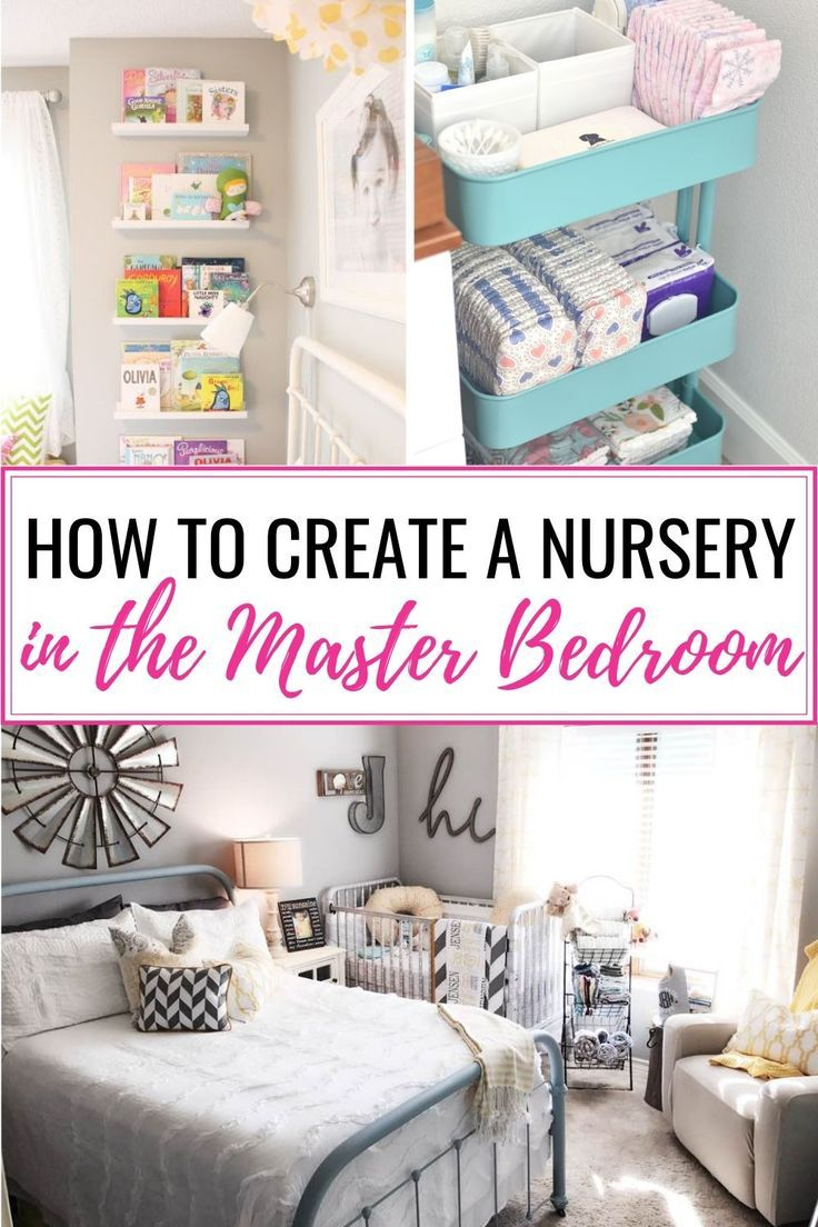 How To Create A Nursery In A Master Bedroom 6 Steps Mommyhooding Master Bedroom Nursery Small Master Bedroom Parents Room