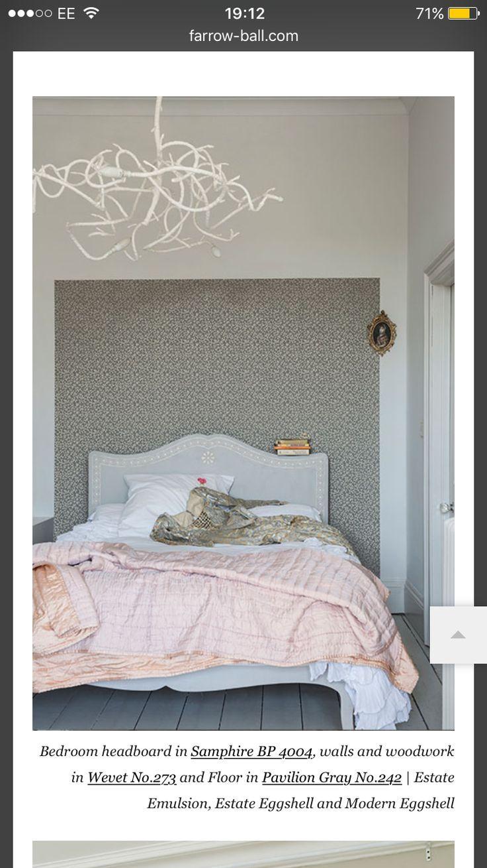 Best 25+ Wallpaper headboard ideas on Pinterest   Bedroom with wallpaper headboard, Next ...