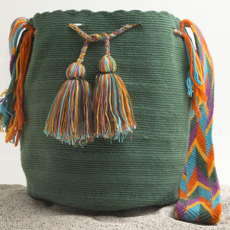 Hermosa Wayuu Mochila | WAYUU TRIBE – WAYUU TRIBE | Handmade Bohemian Bags