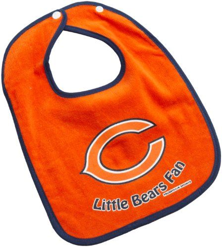 Chicago Bears Baby Bibs