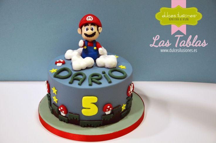 Super Mario estuvo en la fiesta de cumpleaños de Darío. http://dulcesilusiones.es/nuestras-tiendas/tienda-las-tablas/