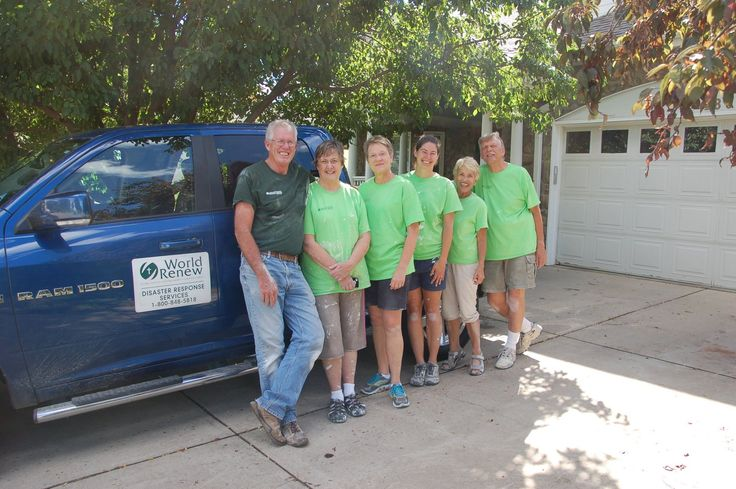 Calvin alumni Volunteer with World Renew on Colorado Flood Anniversary | World Renew