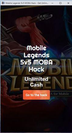 Mobile Legends Diamonds Hack Tool 2018 - FREE 9999999
