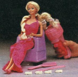 Trenzador de cabello de Barbie