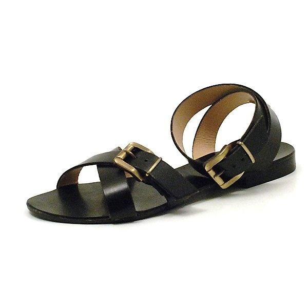 Apair sandal i sort