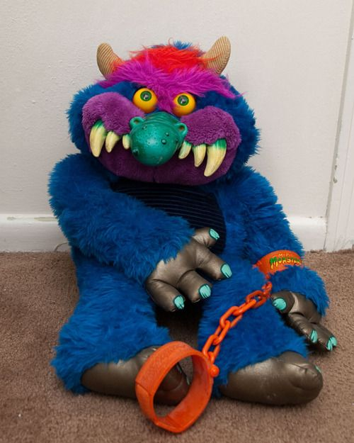 My Pet Monster. I still have one of these; his name is Pickles and he rides on the back of my motorcycle with me, lol.