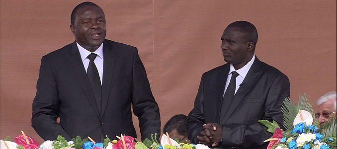 District Apostle Tshitshi Tshisekedi from Congo