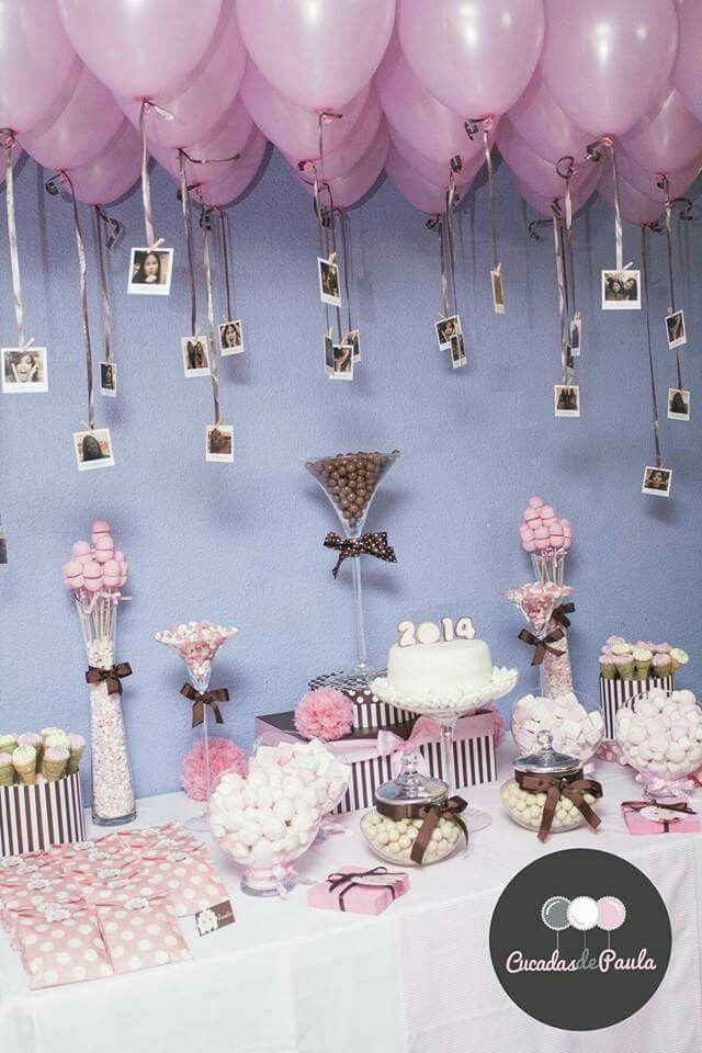 Pink Mauve Rose Gold And Silver Balloon Garland For A 40th