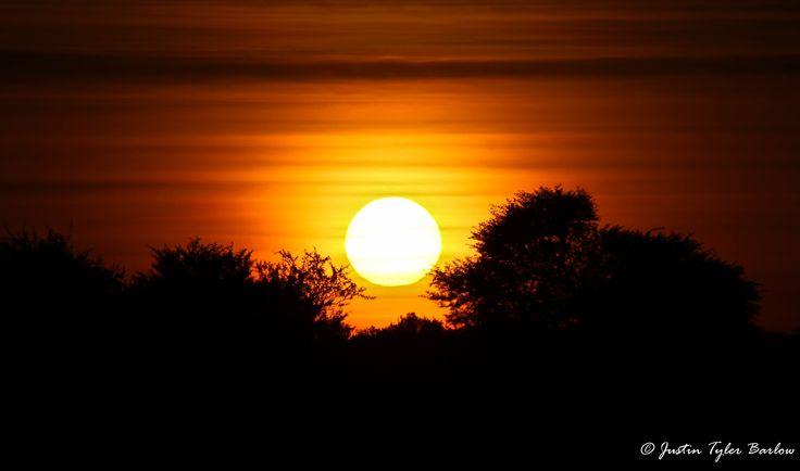 An amazing African Sunrise captured on the Amakhala Game Reserve.  {Photographed by: Ranger Justin Tyler} #sunset #amakhala #safari