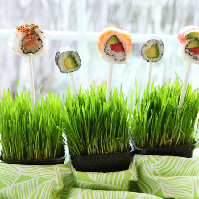 Sushi Pops | 100 Things You Can Eat On A Stick