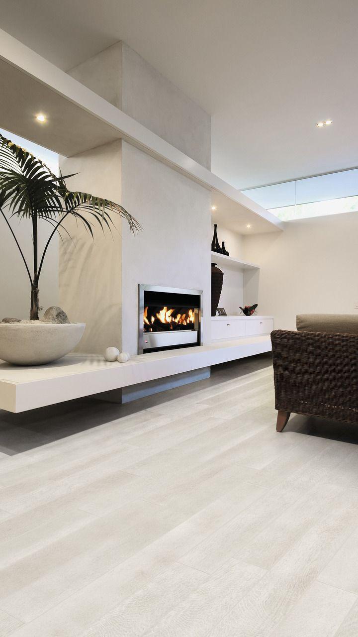 Gres porcellanato effetto legno bianco rovere bianco for for Pavimenti case moderne