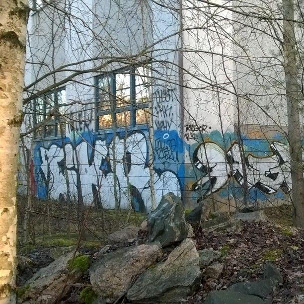 #pöhinää katajainen kansa.. #Kontula #metsän poika tahdon olla... #katutaidetta #Helsinki #lähiöhelvetti #koti #streetart