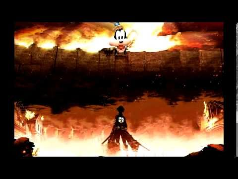 Download attack on titan tribute game for windows & read reviews. Goofy sings the Attack on Titan Opening   Attack on titan ...