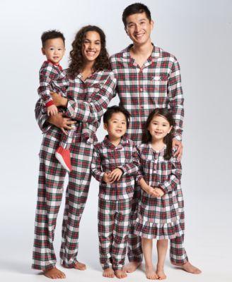 ed8d421473d6 Family Pajamas Matching Stewart Plaid Pajama Set