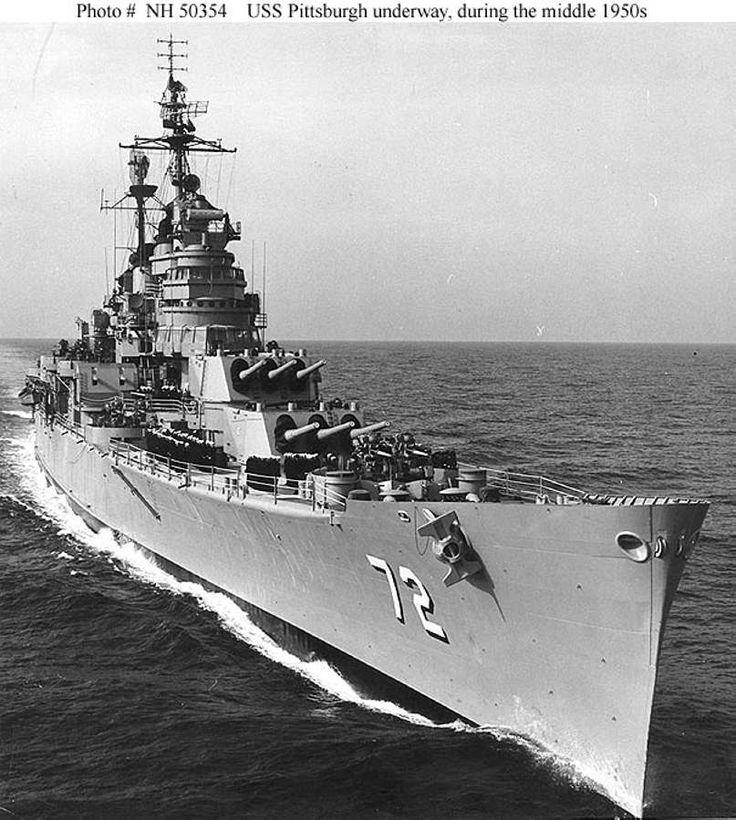 81 best US Navy Heavy Cruisers (Warships, 1910-1950 ... Navy Cruiser Ships