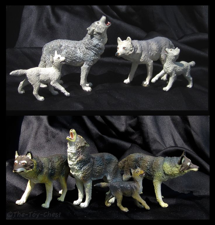 Wolf Family Toy : Safari ltd vanishing wild wolves by the toy chest