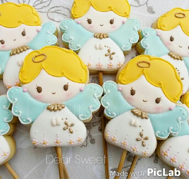 90 Best Angel Cookies, Cakes, Ideas... Images On Pinterest
