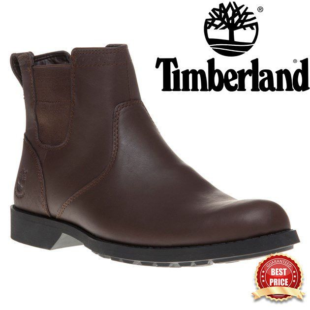 New Mens Timberland Brown Fitchburg