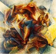Dynamism of a Soccer Player  by Umberto Boccioni