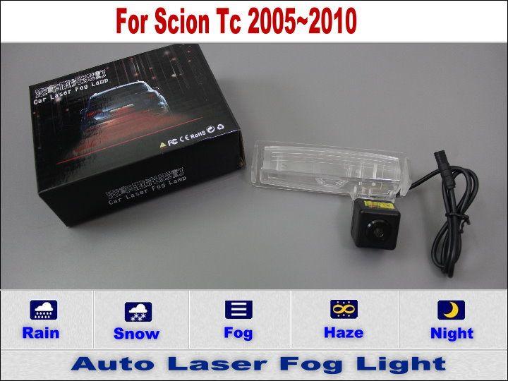Прокат Лазерного Задний Противотуманный Фонарь/Для Scion Tc 2005 ~ 2010/led Автомобиля Стилизация для Предупреждения Столкновения Хвост Противотуманные фары Авто электроника