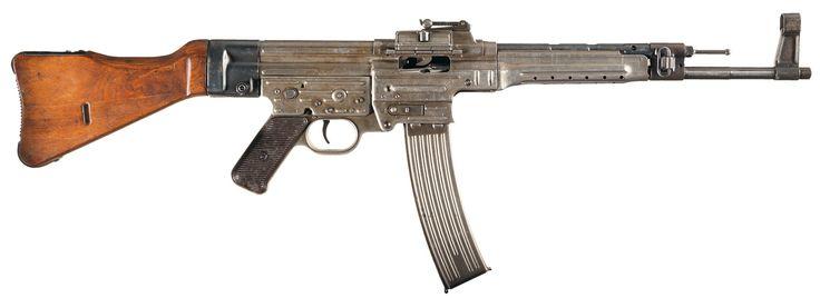 Sturmgewehr 44(STG-44)Assault Rifle the first modern assault rifle.