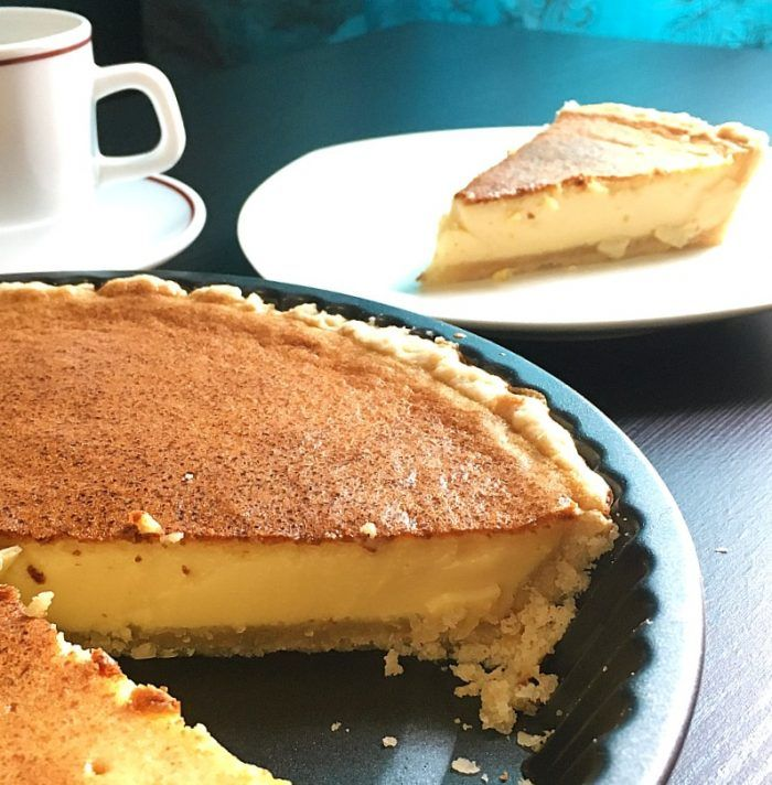 Filipino Egg Custard Pie Homemade Flakey Crust Filled With Baked Custard Of Evap Milk Eggs And Condensed Milk Filipino Food Dessert Egg Pie Food