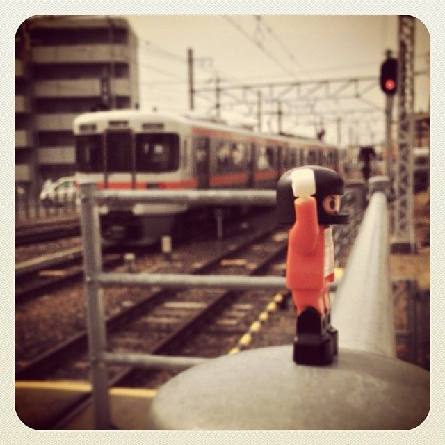 #photo #iPhone5 #diablock  #block  #ダイヤブロック #ブロック #train  #電車 #飯田線