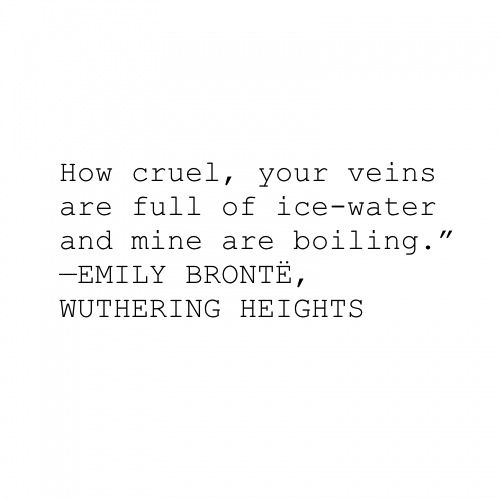 Wuthering heights. I just love the writing