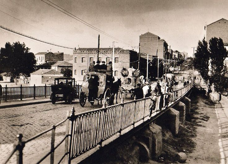Puente de Ventas en 1922
