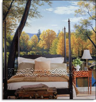 When Summer Turns To Autumn Mural By York, Wall Murals And Photo Murals In  All Sizes. Plus Tips On Mural Installation. Part 36