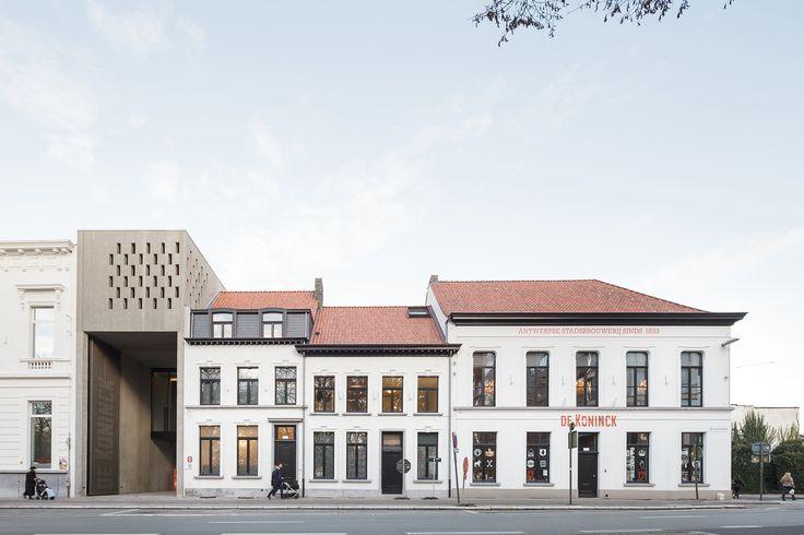 Stadsbrouwerij De Koninck genomineerd voor Het SchoonsteGebouw van Antwerpen • Nieuws • POLO Architects