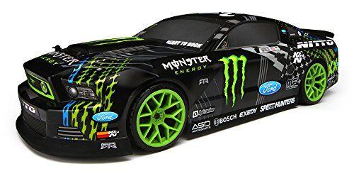 HPI E10 Drift RTR with Vaughn Gittin Jr. Monster Ford Mustang Body 111664