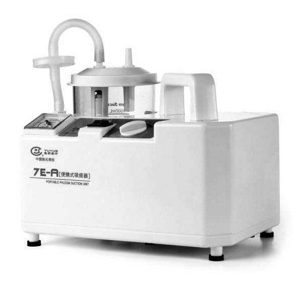 Máquina portátil de succión flema