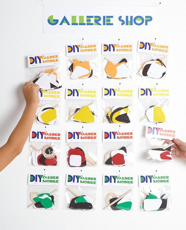 Mobile making elements: Calder Mobile