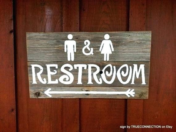 Bathroom Wedding Sign Rustic Bathroom Signs Rustic Restroom Sign Wedding Signs Outdoor By Rustic Wood B Restroom Sign Wedding Bathroom Basket Sign Wood Signage