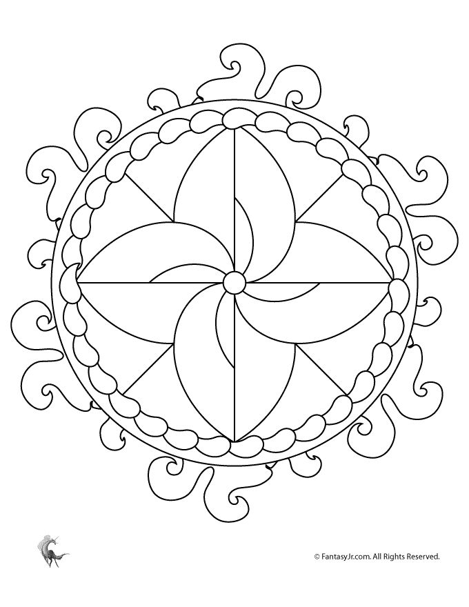 29 best images about mandalas on pinterest coloring free coloring sheets and easy mandala. Black Bedroom Furniture Sets. Home Design Ideas