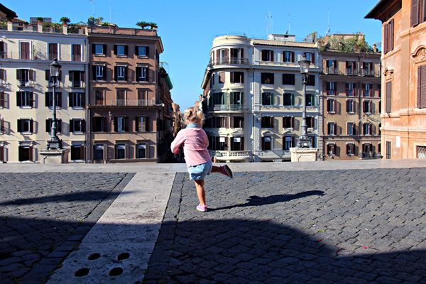 Travelling with kids in Rome, Italy