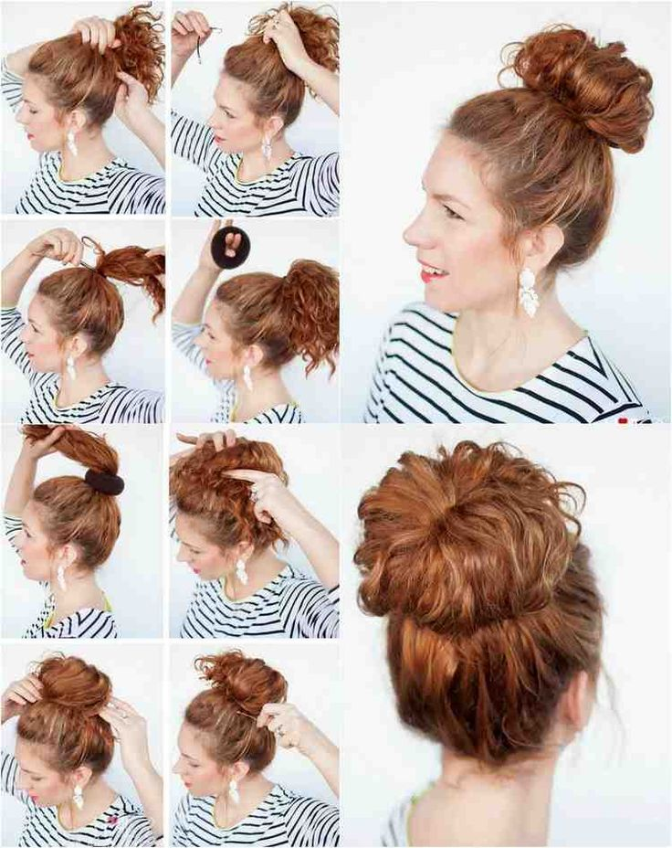 40 hairstyles for Naturlocken to make your own with instructions #hairstyles #instructions #naturlocken | Hair and hairstyles in 2019 | Pinterest | Hair, Hair styles and Long hair styles
