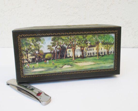 MacGregor Golf Box / Vintage MacGregor Box / by AlegriaCollection, $18.00