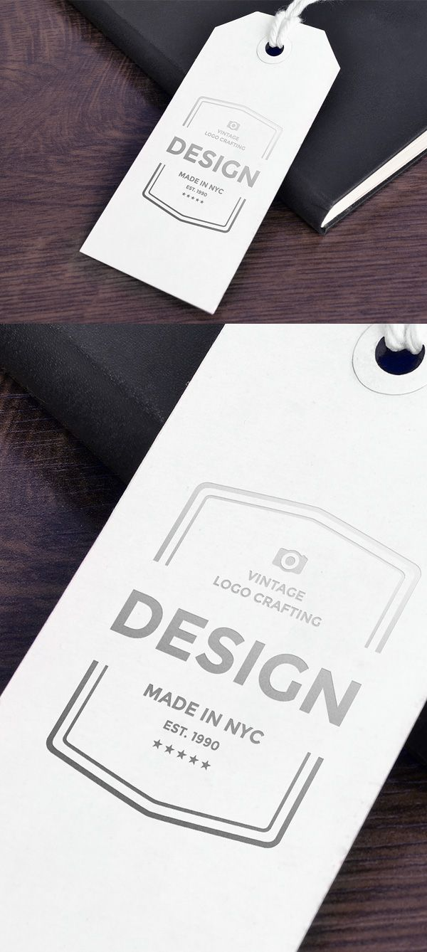 Free Paper Tag Mockup | alienvalley.com | #free #photoshop #mockup