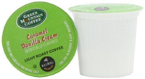 Green Mountain Coffee Caramel Vanilla Cream,  K-Cup Portion Pack for Keurig K-Cup Brewers, 24-Count - http://www.kitchendiningstuff.com/green-mountain-coffee-caramel-vanilla-cream-k-cup-portion-pack-for-keurig-k-cup-brewers-24-count/