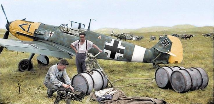 6/19/17 Nazis pose with sniper rifles, storm towns in tanks and bury soldiers in swastika-covered flags in incredible colourised World War II pics  The astonishing images were restored in incredible detail by Welsh electrician Royston Leonard