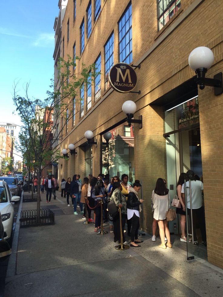 magnum pop up in soho new york city