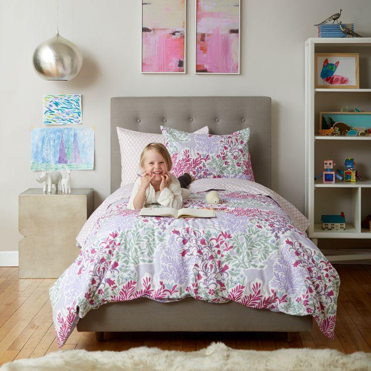 Fauna Lilac Duvet Set