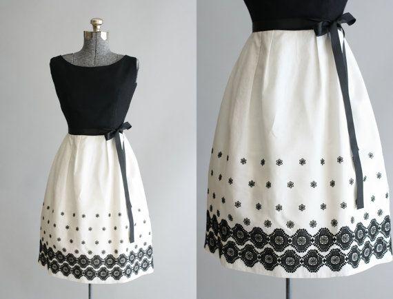 Vintage 60 s Kleid